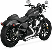 Vance And Hines Big Radius 22 Chrome 26067 Fits 2014 H-d Sportster