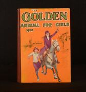 1926 The Golden Annual For Girls All-story Annual Colour Plates Dustwrapper 1st