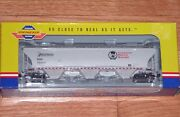 Athearn Genesis G4264 Trinity 5161 Cu. Ft. Covered Hopper 10 Course Cp / Soo