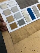 Uni-suede Seat Material For Automandoacuteviles With Hampton Perforation Style By D Yard