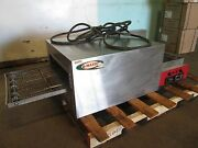 Q-matic Commercial H.d. 1ph Electric Conveyor Pizza Oven W/digital Controls