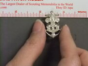 Boy Scout Sea Scout Screw Back Collar Brass Or Hat Badge 3476aa