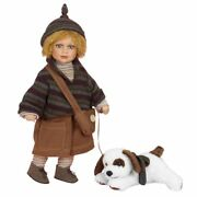 Ethan And Puppy 20 Porcelain Doll By Show Stoppers Designer Flossie Maranuk