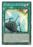 Outrigger Extension Inch-en012 Super Rare Yu-gi-oh Card 1st Edition New