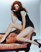 Karen Gillan Signed Autographed 16x20 Photo Doctor Who Sexy On Couch Gv793485
