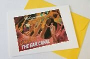 Mad Magazine Gibson Greeting Card W/ Envelope Mint Condition The Ear Canal