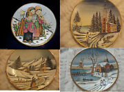 Veneto Flair Signed Plate Etched Italy Christmas Card- Carolers- Pick1