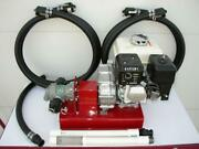 New Gas Driven Bulk/waste Oil Pump24 Gpmcold Oilheatersburnerfree Shipping