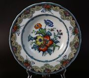 Antique Staffordshire Charles Meigh And Son Improved Stone China Soup Plates 1851
