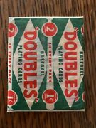 1951 Topps Red Back Wax Pack 1 Cent