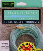 Royal Wulff Bermuda Lost Tip Saltwater 9 Wt Fly Line Free Fast Shipping