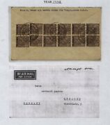 Burma  12 Stamps On Cover To Germany     Ms0130