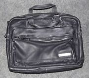 Black Leather Portfolio Briefcase New When Quality Is Important