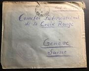 1941 France Concentration Internment Camp Savoie Prisoner Cover To Red-cross