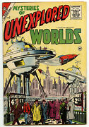 Mysteries Of Unexplored Worlds 2 Vg+ 1957 Charlton Comics Darkside Of The Moon