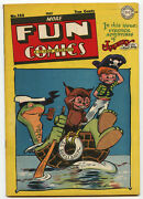 F/vf 7.0 More Fun Comics 122 May 1947 Owl 8 National Comics Scarce Late Issue