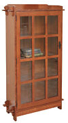 Mission Arts And Crafts   Stickley Style   Single Door Bookcase   Made To Order