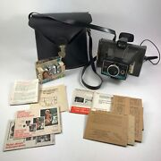 Polaroid Colorpack Ii Land Camera W Case Polacolor Print Mounts And Flashcubes