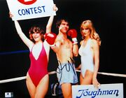 Dennis Quiad Signed Autographed 11x14 Photo Tough Enough Ring Girls Gv809665