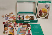 National Live Stock And Meat Board 1992 A Change Of Plate Educational Kit W/ Meat