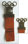 Participation Badge Olympic Games Berlin1936 Athletics Pin Olympiad