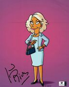 Joan Rivers Signed Autographed 8x10 Photo The Simpsons Caricature Gv842046