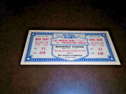 1946 Los Angeles Rams First Nfl Football Game Ever Full Ticket Vs Eagles