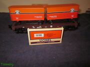 Lionel 6-52410 Ttos Southern Pacific Flat Car With 2 Piggyback Trailers 2006 Mib