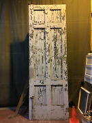 Large Vintage Salvaged Reclaimed Sliding Barn Wood Warehouse Door 4and039x12and039 7