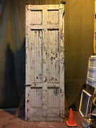 Large Vintage Salvaged Reclaimed Sliding Barn Wood Warehouse Door 4and039x12and039 5