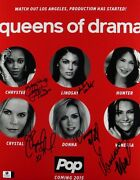 Pharris/hartley/marcil/mills/hunt Signed 11x14 Photo Queens Of Drama Gv849581