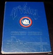 Camp Rucker Alabama 1951 47th Viking Infantry Division Pictorial Review Book