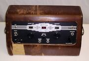 Vintage Maico Model D9 Audiometer Art Deco Hearing Tester With Tubes.