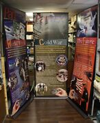 Americaand039s A-bomb Factory - Pantex 70th Anniversary 3pc Display Wwii Cold War..