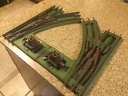 2 Lionel Standard Gauge Switches O42 / Pair / Manual