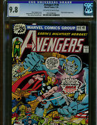 Avengers 149 Cgc 9.8 Owto Pages 1976 Marvel Comics Bronze Age Blue Label Orka