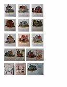 Liberty Falls The Americana Collection 12 Miniature Buildings Of The Old West