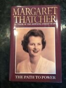 Margaret Thatcher Path To Power Signed Auto Autograph 1st First