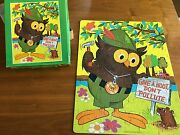 Vintage Woodsy Owl Jigsaw Puzzle Whitman 1973 100 Pieces 14x18 Forest Pollute
