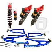 Elka Atv Legacy Front And Rear Shocks And Jd Performance A-arms Yamaha Raptor 250