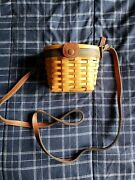 Longaberger Collector's Club Edition - Small Purse Saddlebrook Basket W/ Protect