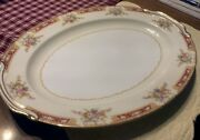 Vintage Noritake Charger Plate Made In Occupied Japan 1946-52 16 Platter Exc