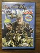 Buck Gardner's Fowl Play 5 Made In The Usa Dvd Goose Duck Hunting Instruction