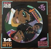 Michael Jackson And The Jackson 5 14 Greatest Hits Picture Disc Lp W/ Poster