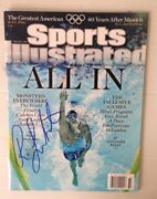 Ryan Lochte Autograph Sports Illustrated August 6, 2012 Usa Olympics Swimming Si