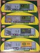 Athearn 7744, 7745, 7746, 7747 Freightliner Chassis And 20' Container John Deere