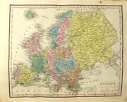 M Malte-brun / New General Atlas Exhibiting The Five Great Divisions 1832