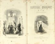 Charles Dickens / Little Dorrit...with Illustrations By H.k Browne 1st Ed 1857
