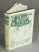 H P Lovecraft / The Horror In The Museum And Other Revisions 1st 1970 Literature