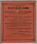 Samuel G Lee / Truth Shall Make You Free The City College Colombo 1897